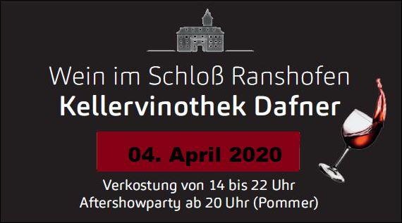 04. April 2020 – Wein im Schloss