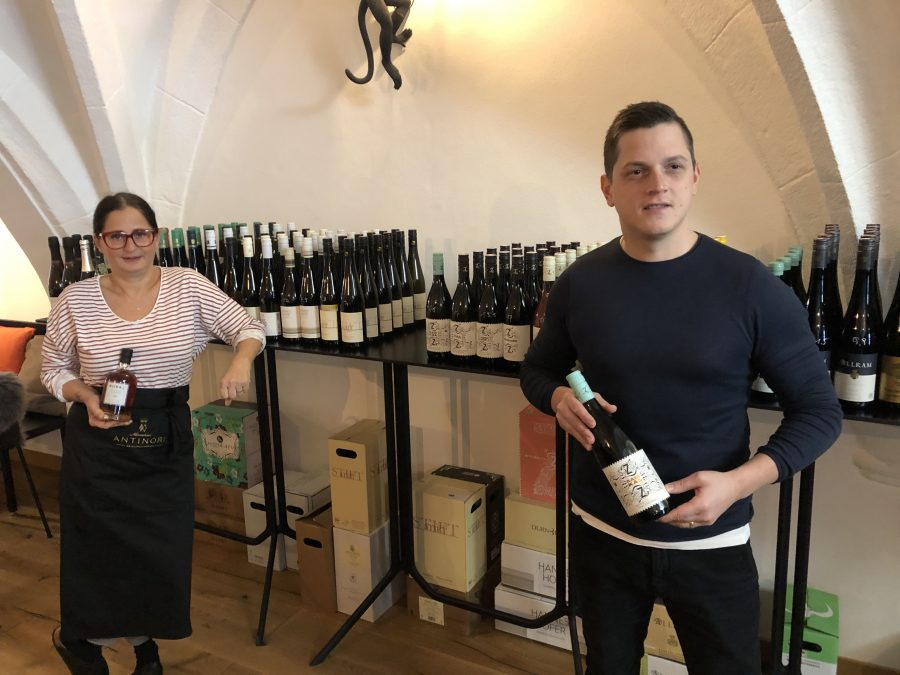 Pop-Up Vinothek im Graf von Matera – Braunau