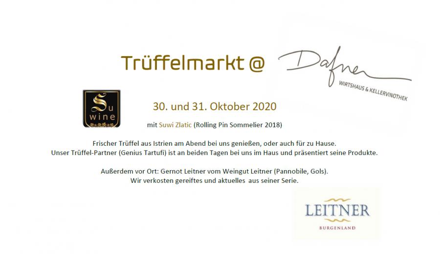 Trüffelmarkt 30. und 31.10.2020