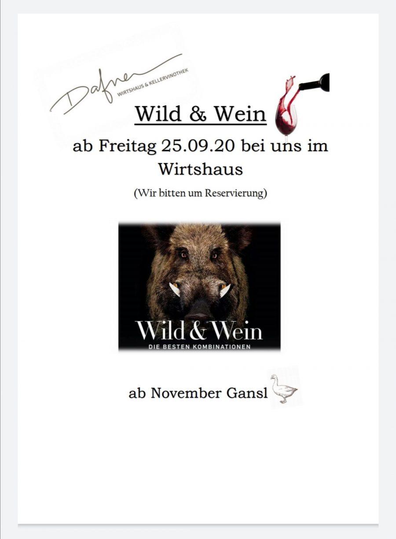 Wild & Wein 2020