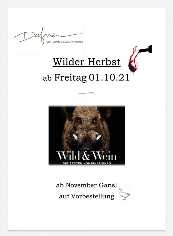 Wilder Herbst ~ bunter Winter 2021